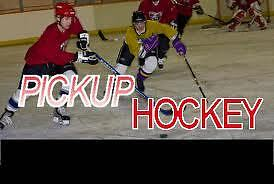 Pickup hockey Wednesday nights at East York Arena