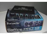 Focusrite Saffire Pro 14 Firewire Audio / MIDI Interface