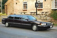 1999 Cadillac Brougham 6 door stretch limo