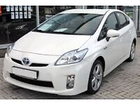 PCO UBER READY TOYOTA PRIUS HYBRID FOR HIRE OR RENT