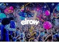 Elrow at docks tickets (pair) 11th march 2017