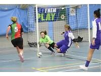 Ladies futsal 5 a-side players wanted