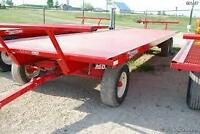 LOOKING for some farm boss hay wagons