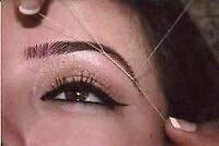 Eyebrows threading only $10