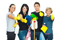Regular or Temporary Cleaning Lady OPENINGS NOW