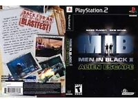 Men In Black II: Alien Escape ps2 game for only £3