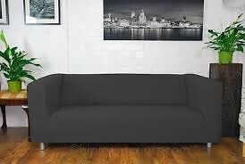 Grey ikea klippan sofa MUST GO TODAY