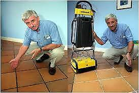 Commercial Scrubber For Hire. Cleans Floors + Grout amazingly