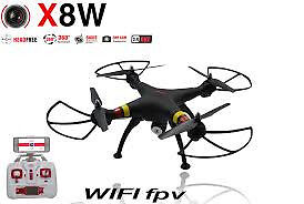 Syma X8W Drone WiFi Real Time Video quadcopter watcvh live