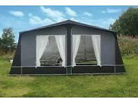 Leisurewize APOLLO caravan awning Charcoal Size 1000cm