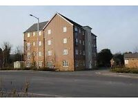 2 bedroom flat with garage in Rugby