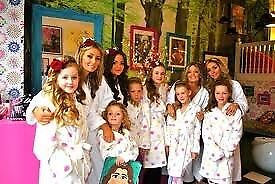 The Girly PamperParty Co Kids Adult Pamper Parties In Dundee - Childrens birthday party ideas dundee