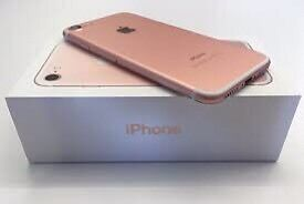 iPhone 7 rose gold 128gb brand new in box for sale vodafone