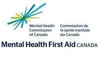 Mental Health First Aid training in Saint John, F'ton, Moncton