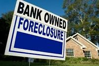 Free list of all Bank owned, power of sale properties for sale!!