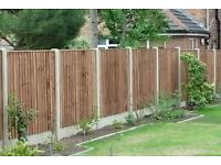 Fence repairs and new fences landscape&gardening service paving cleaning 07741801285...