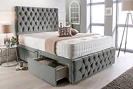 🪐🌎SALLEE!! CLEARANCE EVERYTHING MUST GO! Brand New Divan Beds with D