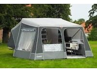 CAMPLET classic TRAILER TENT 2014 - Isabella acrylic with side annex and sun shade