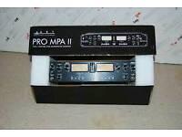 ART Pro MPA II Valve Microphone Preamp