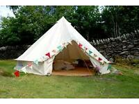 Bell tent hire for hen parties, garden parties,childrens sleepovers