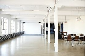 Commercial Photo Video Studio Loft Space to Share a Partager
