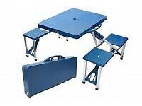 camping picnic table