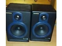Samson Resolve 40a active studio monitors
