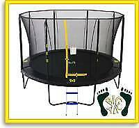 Brand New 12ft Big Air Extreme Trampoline + Safety Enclosure