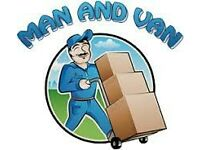 Man and Van services £ 25per hour