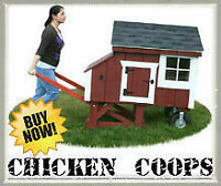 CHICKEN COOPS FOR SALE | 20 COOP DESIGNS | 1-888-290-8277