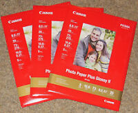 Canon Photo Paper -HIGH GLOSS 3 PACKS-Sealed NEW!!!!!