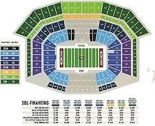 2 OF 8 TICKETS  DENVER @ SAN FRANCISCO 49ERS  FIRST PRESEASON GAME AUG 14, 2014