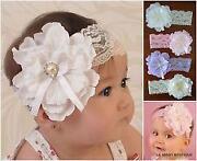 White Baby Headband