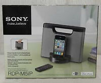Sony RDPM5IP 30-Pin iPhone/iPod Portable Speaker Dock (Black)