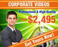 PROFESSIONAL CORPORATE VIDEOS