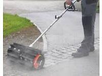 Shindaiwa power broom attachment. Brand new, unused.