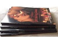 Twilight, New Moon, Eclipse, Breaking Dawn Official Illustrated Movie Companion Books
