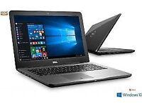 *New Boxed Dell inspiron AMD 8GB Ram 1 TB Hard Drive DVD/Web cam Windows 10 laptop webcam warranty*