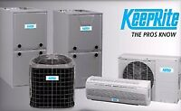 Free 10 year extended labour warranty on Furnaces and A/C .