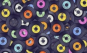 Vinyl Records over 1000 records $2 +up