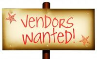 VENDOR'S WANTED
