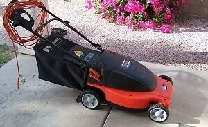 Wanted electric lawnmower
