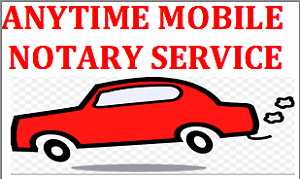 Sunday Notary Public & Commissioner for Oaths - Mobile/Office$30