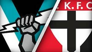 Port Adelaide Power v St Kilda - 6 adult tickets $10 each Adelaide CBD Adelaide City Preview