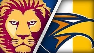 PREMIUM West Coast Eagles vs Brisbane Lions ticket Sun 30th Jul