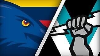 Wanted: 2x tickets to Adelaide Crows vs Port Power Showdown