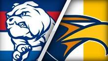 Western Bulldogs vs West Coast: Level 1 - - 4 tickets available - Airport West Moonee Valley Preview