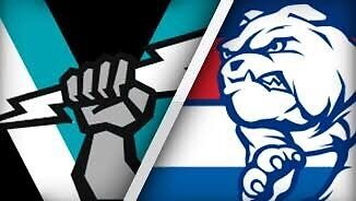 3 x footy tickets to Port vs Bulldogs game today