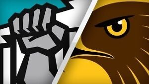1 x adult members reserved sec 126 port Adelaide vs hawthorn tickets Fulham Gardens Charles Sturt Area Preview