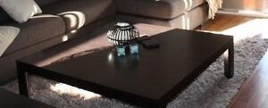 Nick Scali coffee table brown Trott Park Marion Area Preview